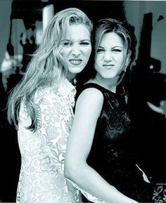 Lisa Kudrow and Jennifer Aniston...Friends