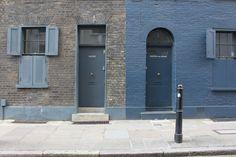 farrow and ball railings exterior - Google Search