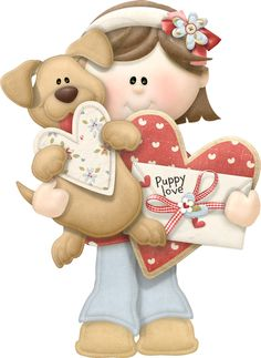 """Photo from album """"From The Heart"""" on Yandex. Pictures To Paint, Cute Pictures, Cute Clipart, Vintage Theme, Child Doll, Digital Stamps, Digital Papers, Christmas Pictures, Toddler Crafts"""