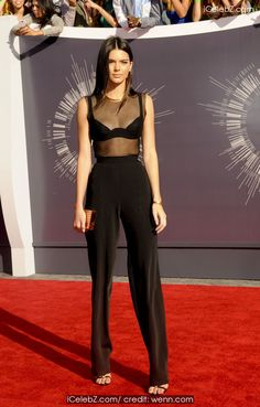 Kendall Jenner The 2014 MTV Video Music Awards at The Forum http://icelebz.com/events/the_2014_mtv_video_music_awards_at_the_forum/photo35.html