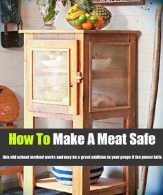 How To Make A Meat Safe - SHTF Preparedness
