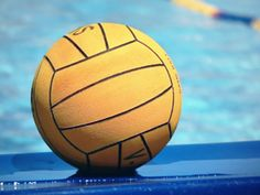 How to throw a water polo ball...