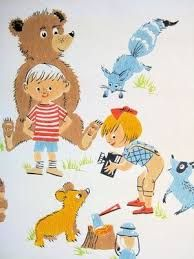 Image result for vintage childrens wallpaper