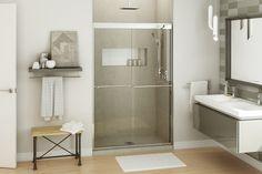 Kameleon SC 8mm – Alcove Shower Door - MAAX for 36x 48 shower. square bar in…