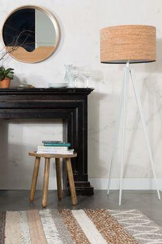 Tripod Cork Floor Lamp