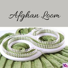 Afghan Loom Knit shawls, afghans, and much more in single knit.