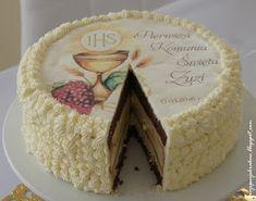 moje pasje: Tort czekoladowo-bezowy z kremem cytrynowym