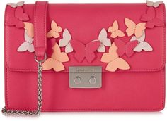 Wren Portemonnaie BUTTERFLY /& HEARTS pink