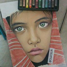 Soft pastel #kid #art