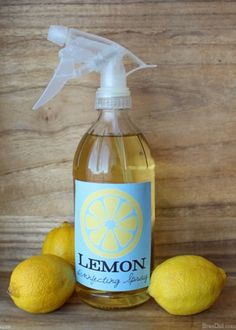 Make a free glass spray bottle for DIY cleaners: easy upcycled project. Glass spray bottles do not react w/ essential oils & green cleaning ingredients. Homemade Cleaning Products, Cleaning Recipes, Natural Cleaning Products, Cleaning Hacks, Cleaning Solutions, Natural Products, Old Glass Bottles, Glass Bottle Crafts, Glass Spray Bottle