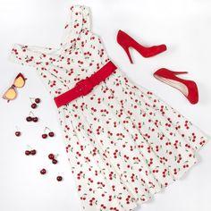 Cherry On Top Dress | Flatlay | Review Australia