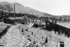 Red Bandana Mine, Baldy Mountain, Moreno Valley, Colfax Co., New Mexico