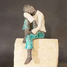 blandine destouches sculpture raku m tal bois touraine tours artiste animal pinterest clay. Black Bedroom Furniture Sets. Home Design Ideas