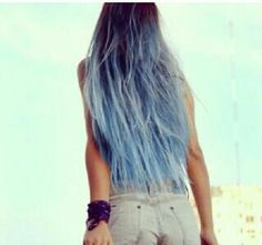 Precioso pelo azul :)