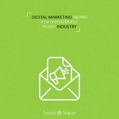 Any type of #business can benefit from going #Digital. Find out how @ Social Sniper.  #marketing #seo #smo #ppc #digitalmarketing #onpage #offpage #consulting #business #digitalindia #development #design #designer #html #startup #sales #online #css #facebook #facebookmarketing #linkedinmarketing #nextlevel #software #app #appdevelop #iOS #android #banners Facebook Marketing, Social Media Marketing, Digital Marketing, Marketing Words, Digital India, S Mo, App Development, Banners, Benefit