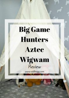 Aztec Wigwam Review | For Piglet's 1st birthday we got him a teepee. We've been road testing it to see how it stands up to the toddler test http://oddhogg.com