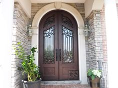 Recent Iron Door remodel in Franklin, TN.  Call us for information and pricing!