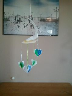 3D Heart mobile made with a paper plate & Snow Man mobile made from a paper plate | Easy kid crafts ...