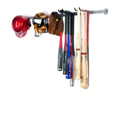 Baseball Bat & Equipment Storage Rack - Large | Organize.com