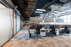 loft interior design Align Technology, Loft Interior Design, Loft Interiors, Conference Room, Desk, Table, Furniture, Home Decor, Desktop
