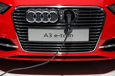 This Audi Has the Coolest EV Port We've Ever Seen