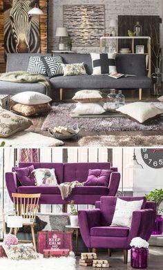 ¡Mira esta idea que puedes hacer en con tu living! Inspírate y mueve tu creatividad ;) #DecoBazar #HomyDeco #Living Outdoor Furniture Sets, Outdoor Decor, Throw Pillows, Warm, Living Room, Bed, Home Decor, Warm Living Rooms, Bazaars