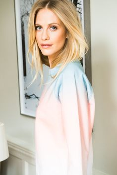 """""""The accessory I feel naked without would have to be my dirty, filthy cackle of a laugh."""" http://www.thecoveteur.com/bloomingdales-poppy-delevingne/"""