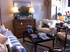 Portobello Design: New Port Cottage Style: Designer Schuyler Samperton and Rooms & Gardens in Santa Barbara, CA