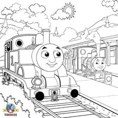 Fun Coloring Pages: Thomas the Tank Engine Coloring Pages | Flynn ...