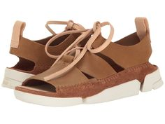 ed2c79b22019 CLARKS CLARKS - TRIGENIC HONEY (COLA NUBUCK) WOMEN S SANDALS.  clarks  shoes