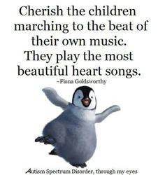 """ღ """"Cherish the children narching to the beat of their own music. They play the most beautiful heart songs."""""""