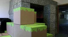 Minecraft Office Prank