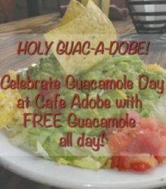 Featured in Houston on the Cheap for National Guacamole Day.