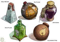Bomb Flasks