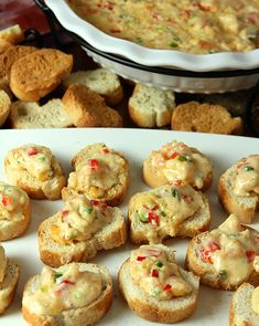 Low Country Shrimp Dip Appetizer. So cheesy. So delicious. So perfect for the #holidays!