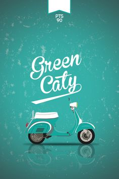 Greencaty PTS90 #vespa