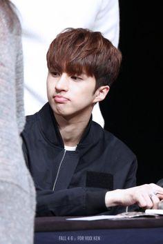 He might be adorable but do not be fooled! Beware of savagery by Ken Tvxq, Btob, Ken Vixx, Lee Hyori, Vixx Members, Lee Jaehwan, Ravi Vixx, U Kiss, Jellyfish Entertainment