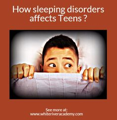 How sleeping disorders affects Teens ?  A sleeping disorder may cause disruption in both the young person's academic, personal and home life. it can lead to an inferior quality of life as patients feel stressed and sleepy during the day.