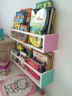 biblioteca a pedido estante porta libros infantil de madera