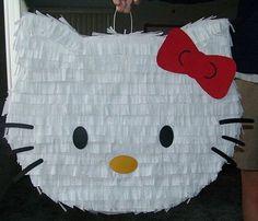 manualidades caseras fiesta hello kitty  - Manualidades caseras para tu fiesta Hello Kitty