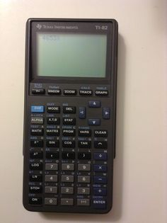 Texas Instruments TI-82 Graphing Calculator Electronics College High School Used 33317086528 | eBay