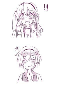 Fire Emblem: If/Fates - Leon gives Kamui a gift (3/4)