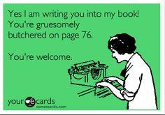 Who comes up with these memes? #loveit Shared from Kristin Lamb's blog by Donna White Glaser ‏@readdonnaglaser