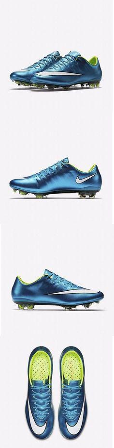 Women 159176: Nike Womens Mercurial Vpr X Fg Soccer Cleats Blue Lagoon White Volt 744950-400 -> BUY IT NOW ONLY: $64.99 on eBay!