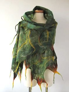 Green Cotton Scarves & Shawls – linenlooks style scarfs,scarves shawls wraps,scarves and shawls Elf Kostüm, Fairy Clothes, Fantasy Costumes, Fairy Costumes, Woodland Fairy Costume, Pirate Costumes, Vintage Scarf, Cotton Scarf, Green Cotton