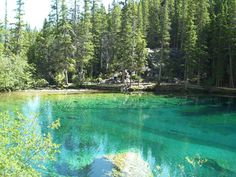 Grassi Lakes - Canmore, Alberta - Kananaskis Country Attractions