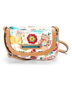 Look at this #zulilyfind! Furry Friends Taylor Mini Crossbody Bag by Lily Bloom #zulilyfinds