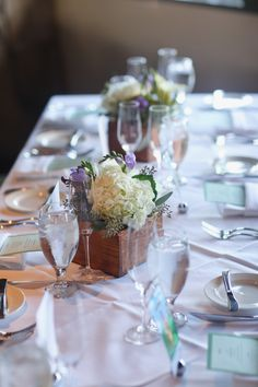 #table decor at Lookout Cabin