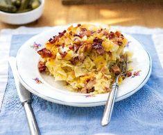 Šunkafleky   Recepty Albert Cauliflower, Macaroni And Cheese, Food And Drink, Dinner, Vegetables, Ethnic Recipes, Dining, Mac And Cheese, Cauliflowers