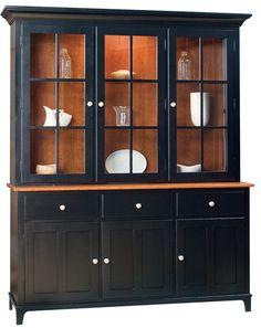 Hearthside Furniture   Estates 3 Door Hutch (http://www.hearthsidefurniture.